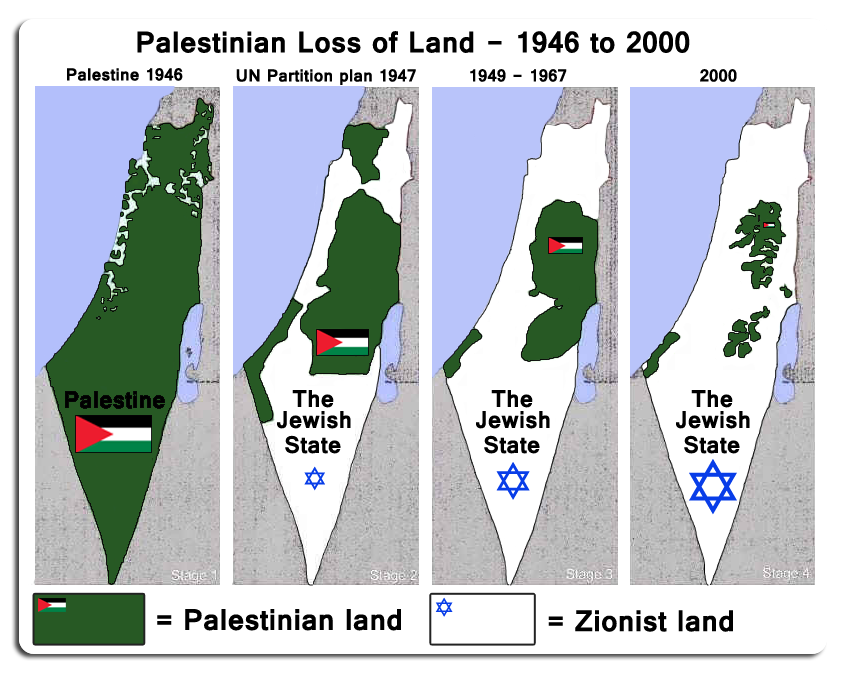 Israel palestine the maps tell the true story picture gumiabroncs Gallery